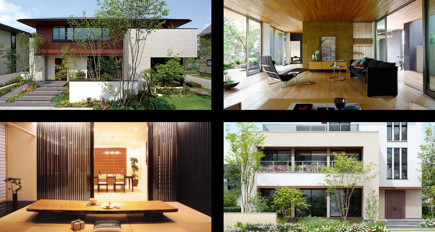 木造住宅。
